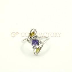 18ct White Gold Ring