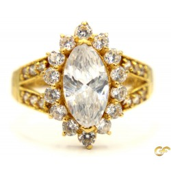 22ct Gold Ladies Ring